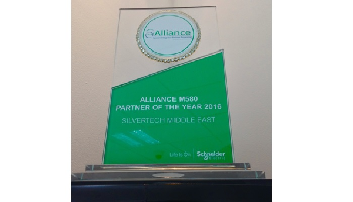 Silvertech bags Alliance M580 Partner of the Year Award